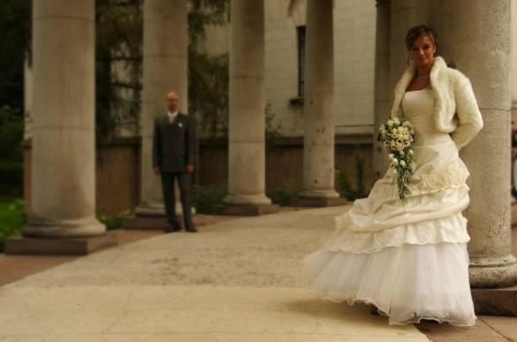 Свадебная фотография в «Архангельском»